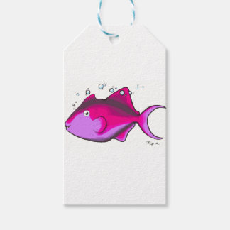 Triggerfish! Gift Tags