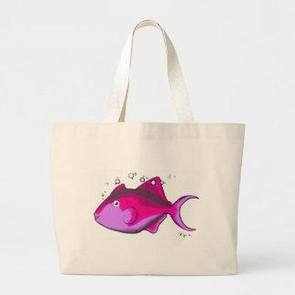 Triggerfish! Large Tote Bag