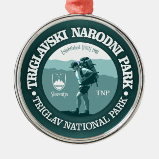 Triglav National Park Metal Ornament