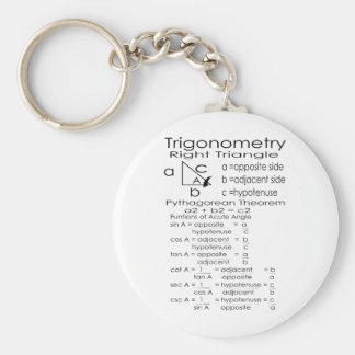 trigonometry key ring