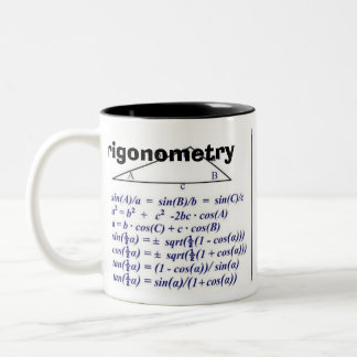 Trigonometry  Rev B Two-Tone Coffee Mug