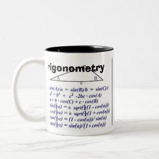 Trigonometry  Rev B Two-Tone Mug