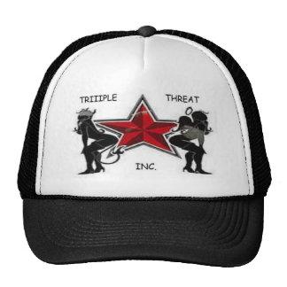 TrIIIple Threat Trucker Hat