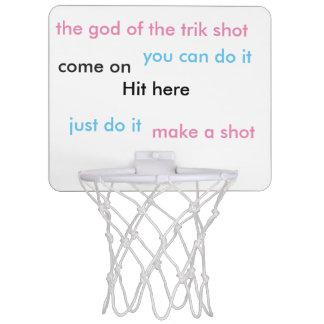 trik shot mini basketball hoop