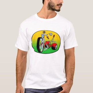 trike tricycle pimped out caddy cadillac chopper T-Shirt