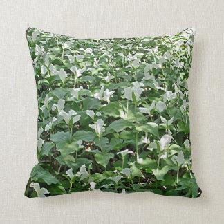 trillium field pillow