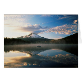 Trillium Lake | Mount Hood National Forest, OR Card