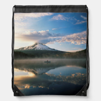 Trillium Lake | Mount Hood National Forest, OR Drawstring Bag