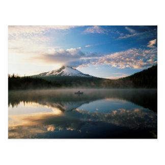 Trillium Lake   Mount Hood National Forest, OR Postcard