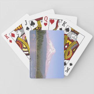 Trillium Lake, Oregon playing cards