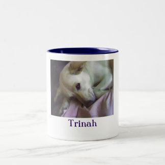 Trinah Two-Tone Mug