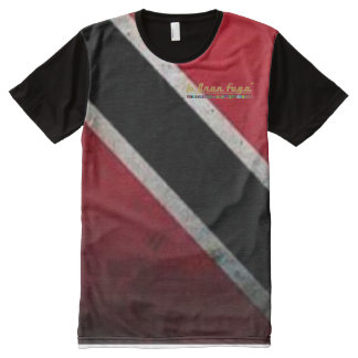Trinbago T&T All Over Print T-Shirt All-Over Print T-Shirt