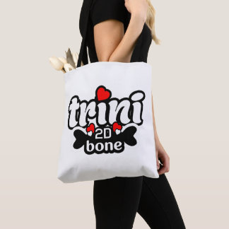 Trini 2D Bone (2 Sided)) Tote Bag