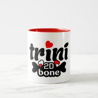 Trini 2D Bone Two-Tone Coffee Mug