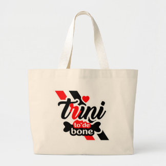 Trini To De Bone Large Tote Bag