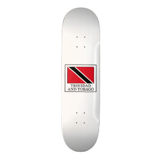 Trinidad and Tobago 21.6 Cm Skateboard Deck