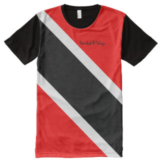 Trinidad and Tobago All-Over Print T-Shirt