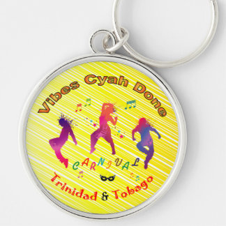 Trinidad and Tobago Carnival Key Ring