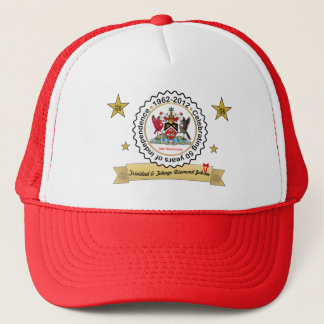 Trinidad and Tobago Coat Of Arms Anniversary Trucker Hat