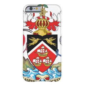 Trinidad and Tobago Coat of Arms Barely There iPhone 6 Case