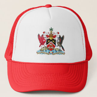 Trinidad and Tobago Coat Of Arms Trucker Hat