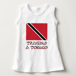 Trinidad and Tobago Flag and Words Dress