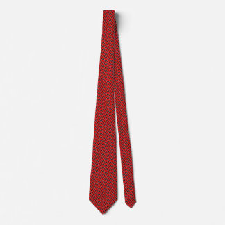 Trinidad and Tobago Flag Honeycomb Tie
