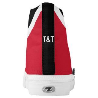 Trinidad and Tobago flag shoes Printed Shoes