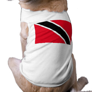 Trinidad and Tobago Flag Sleeveless Dog Shirt