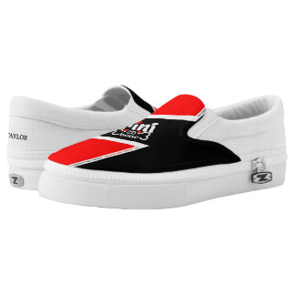 Trinidad and Tobago Flag Slip On Shoes