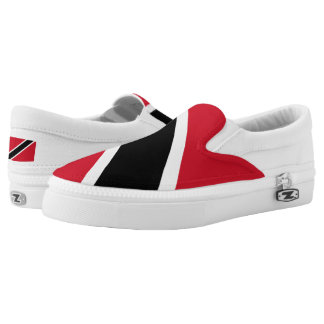 Trinidad and Tobago Flag Slip-On Shoes