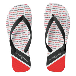 Trinidad and Tobago Flag Thongs