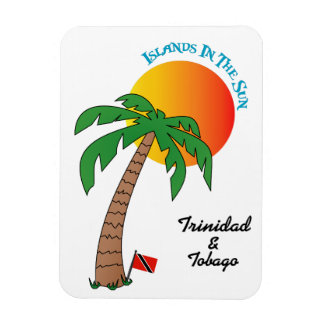 Trinidad and Tobago Islands In The Sun Magnet