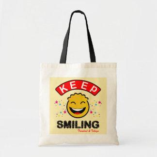 Trinidad and Tobago Keep Smiling Yellow Smiley