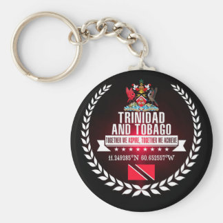 Trinidad and Tobago Key Ring