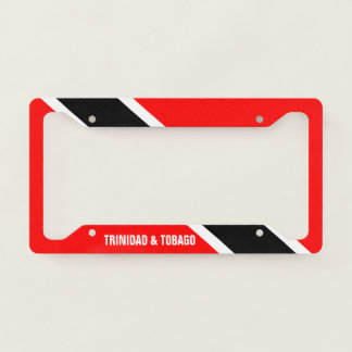 Trinidad and Tobago Licence Plate Frame