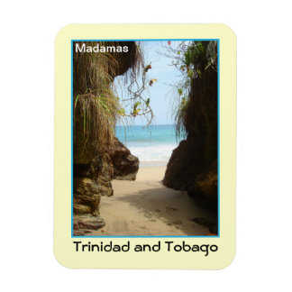 Trinidad and Tobago Madamas Beach Magnet