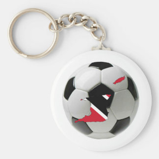 Trinidad and Tobago national team Basic Round Button Key Ring