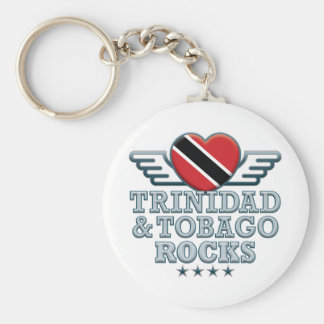 Trinidad and Tobago Rocks v2 Key Ring