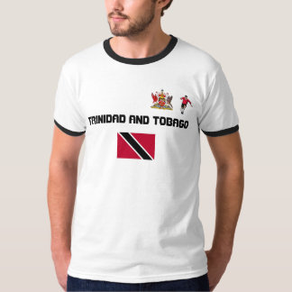 TRINIDAD AND TOBAGO SOCCER SUPPORTER T-SHIRT
