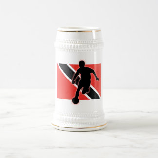 Trinidad and Tobago Striker 4 Beer Stein