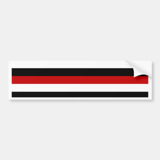 Trinidad and Tobago Yemen flag stripes Bumper Sticker