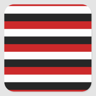 Trinidad and Tobago Yemen flag stripes Square Sticker