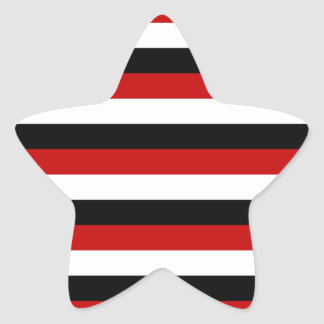Trinidad and Tobago Yemen flag stripes Star Sticker