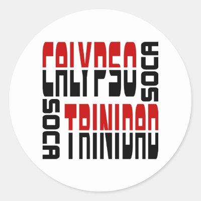 Trinidad and tobago flag heart sticker zazzle com au