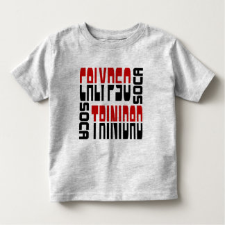 Trinidad Calypso Soca Cube Toddler T-Shirt
