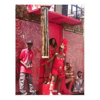 Trinidad Carnival 2006 Postcard