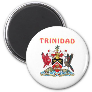 Trinidad Coat Of Arms Magnet