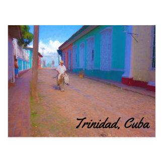 Trinidad Cuba postcard