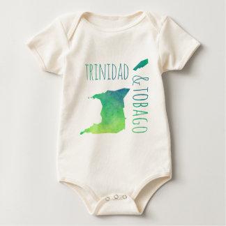 Trinidad & Tobago Baby Bodysuit